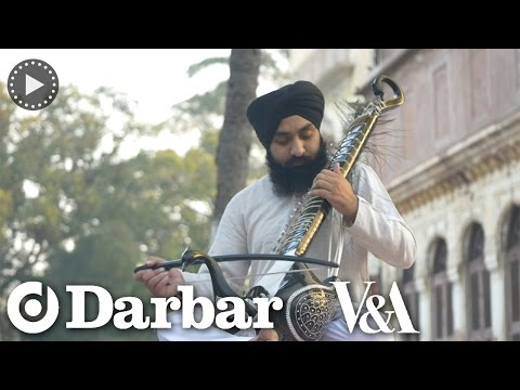 Indian classical music - Sandeep Singh plays the Taus or Mayuri Veena