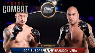 Total Combat | Igor Subora vs Brandon Vera | Full Fight Replay