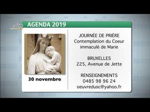 Agenda du 22 novembre 2019