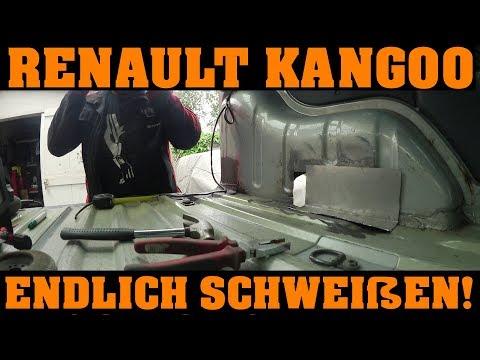 Renault Kangoo - endlich wieder Schweißen! 🔧🔧🔧