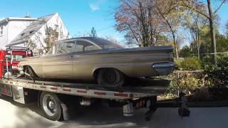 I bought the 1960 Pontiac Catalina and got the engine un-stuck