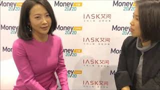 Gloria Ai at Money 20/20 China