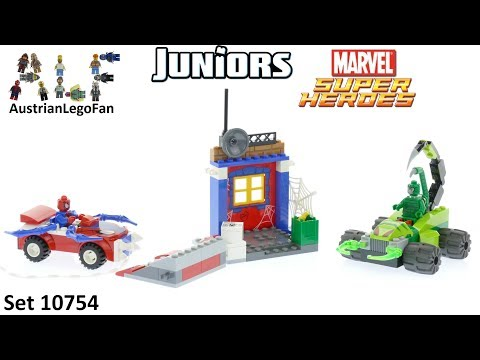 Vidéo LEGO Juniors 10754 : Spider-Man contre Scorpion