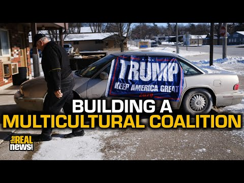 New strategy builds a multiracial coalition in Trump country
