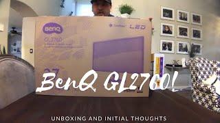 BenQ GL2760H Monitor Unboxing!
