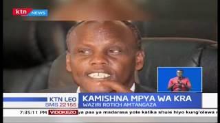 Waziri Rotich amtangaza John Mburu`Kamishna mpya wa KRA