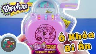 Giải mật khẩu, mở Ổ Khóa Shopkins Secret bí ẩn ToyStation 278