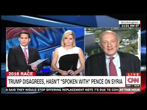 James Woolsey Refuses to Talk About Syria Policy