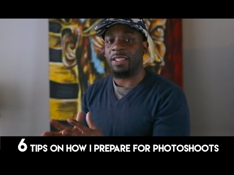 6 Tips On How I Prepare for Photoshoots