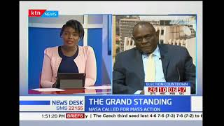 News Desk: The Grand Standing with NASA calling for mass action