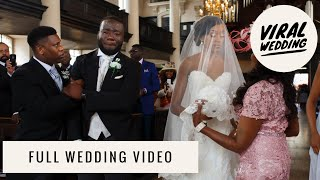 The Crying Groom   Viral Wedding   Our  Wedding Video