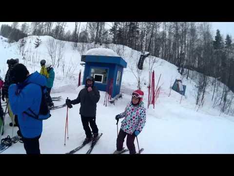 Видео: Видео горнолыжного курорта Новососедово в Новосибирская область