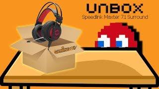 Hardware Unboxing: Speedlink Maxter 7.1 Surround Gaming Headset