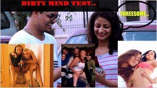 Dirty Mind Test On Girls In Delhi | Girls Reaction On Double Meaning Images | Gandi Baat | NoisyGeek