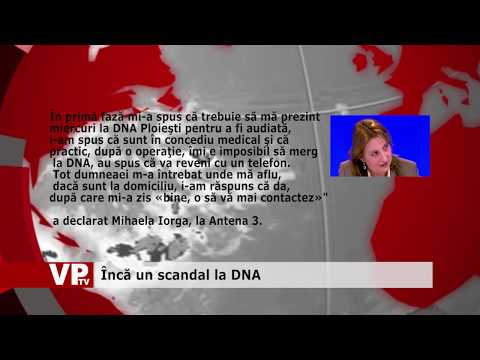 Încă un scandal la DNA
