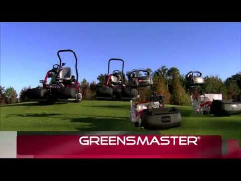 Toro's All New Greensmaster® Lineup Intro