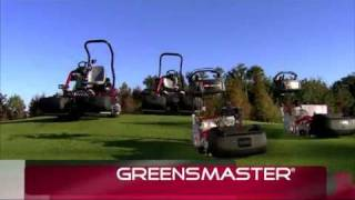 Toro's All New Greensmaster Lineup Intro