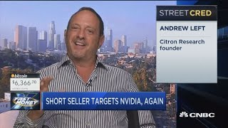 Citron Research's Andrew Left is targeting Nvidia, again