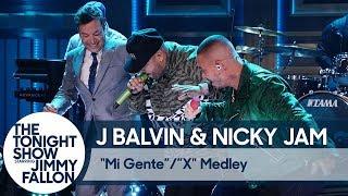 "J Balvin & Nicky Jam:""Mi Gente""""X"" Medley"