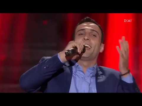 Ο Πέτρος Σαρακάσης τραγούδησε το «Αδά σον κόσμον αγαπώ» και σείστηκε το πλατό του The Voice