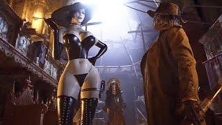 Resident Evil 8 Village Lady Dimitrescu with Ultra Bikini Jiggle Physics Costume Mod All Cutscenes