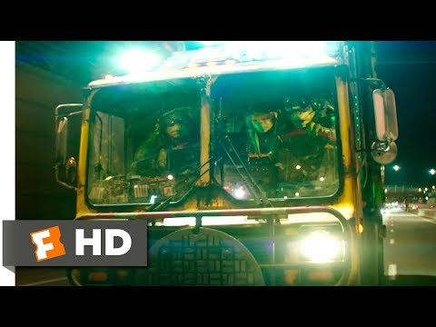 Teenage Mutant Ninja Turtles 2 (2016) - Turtle Tactical Truck Scene (2/10) | Movie