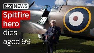 Spitfire hero Ken Wilkinson dies aged 99