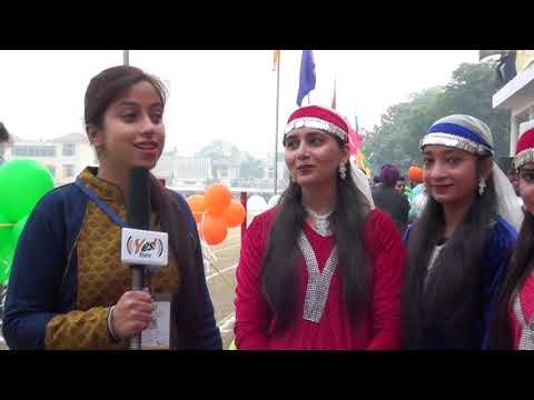 Sports Day M L N College Intro Kashmiri Dance team yamuna nagar Haryana