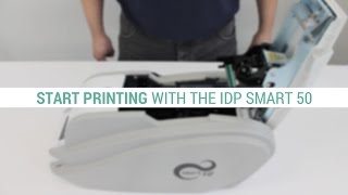 How To Set Up The IDP Smart 50 ID Card Printer