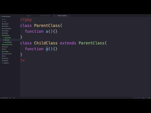 PHP - 상속과 final