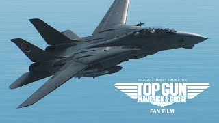 TOP GUN MAVERICK & GOOSE - DCS WORLD FAN FILM