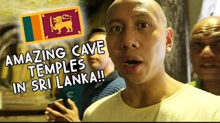 AMAZING CAVE TEMPLES IN SRI LANKA! WOW! | Vlog #97