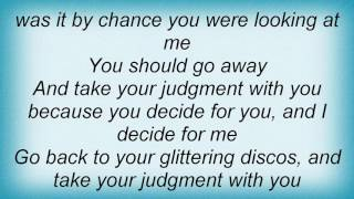 Faction - I Decide For Me Lyrics