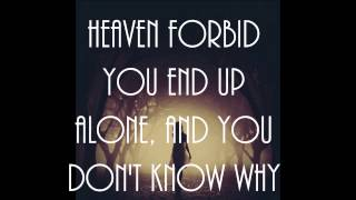 """Heaven Forbid"" by The Fray LYRICS HD"
