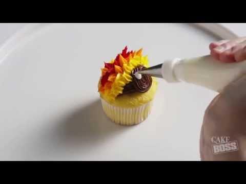 Cake Boss Cupcake Calendar: November | Thanksgiving Turkey Cupcake Tutorial