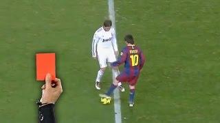 Смотреть онлайн Топ 10 ситуаций в футболе, за которые дали красную карточку