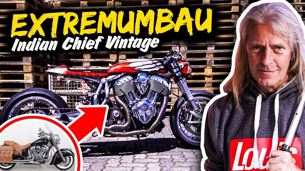 EXTREMUMBAU: INDIAN Chief Vintage wird zu ENGINA!