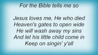 Aaron Neville - Jesus Loves Me Lyrics