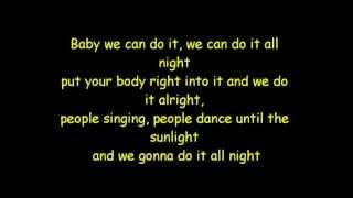Darius & Finlay - Do it all Night [Lyrics]