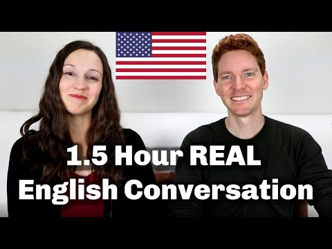 Download 1.5 HOUR English Conversation Lesson Mp4 HD Video and MP3