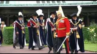 Annual Order Of The Garter Procession 17.06.13