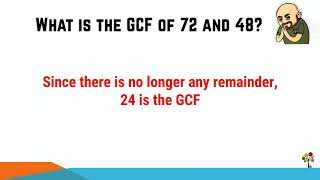 Euclid's GCF Method ~ How It Helps In Primary School Mathematics