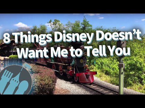 8 Things Disney Doesn't Want Me To Tell You!