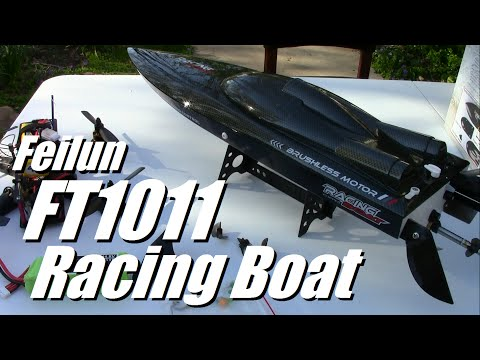 Feilun FT1011 Racing Boat Review from Banggood