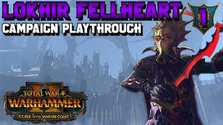 Lokhir Fellheart Campaign #1! NEW Black Ark Mechanic | Total War: Warhammer 2