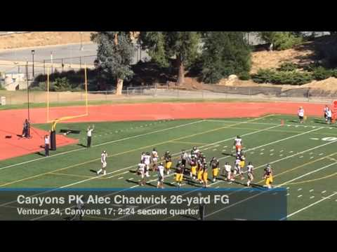 Gangi Ventura College Football Knock Off College Of The Canyons 54