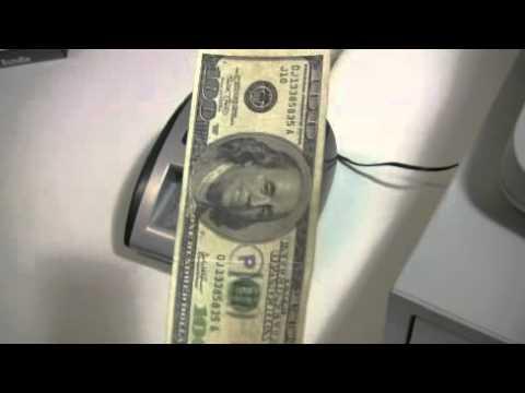Detectora Automatica de billetes D500 Dolar AccuBANKER Argentina