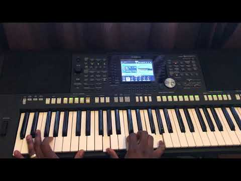 Piano tutorial on Worrow style of African (Nigerian) praise and worship - part 1