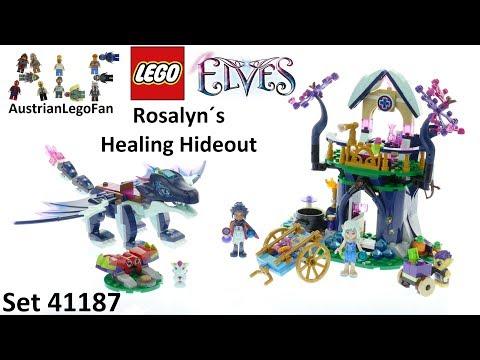 Vidéo LEGO Elves 41187 : L'infirmerie cachée de Rosalyn