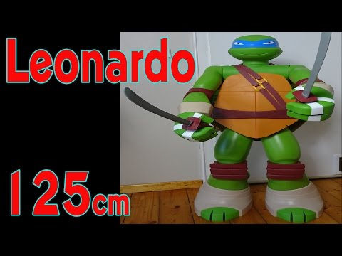 TMNT LEONARDO LEBENSGROß 125cm FIGUR (Lifesize Teenage Mutant Ninja Turtles [deutsch/german])